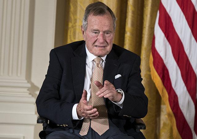 George H. W. Bush, expresidente de EEUU (archivo)