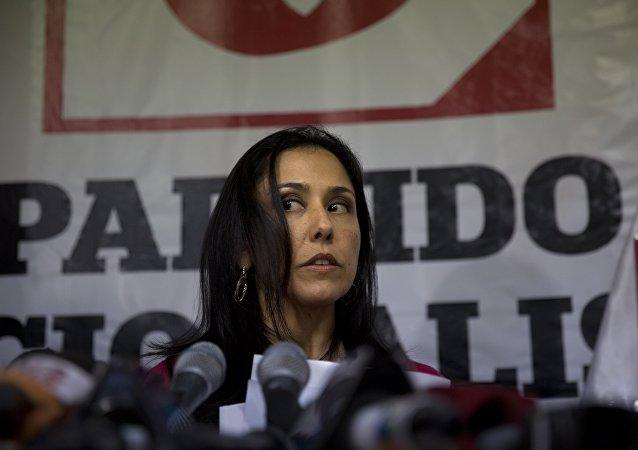 Nadine Heredia, la ex primera dama de Perú