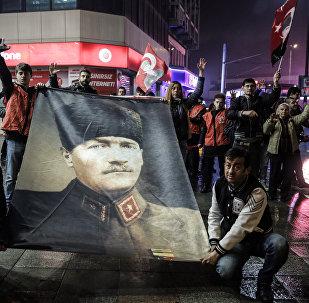Protestas contra el referéndum en Turquía (archivo)