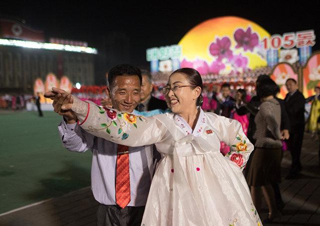 Eventos conmemorativos del 105 aniversario del nacimiento de Kim Il-sung, Pyongyang