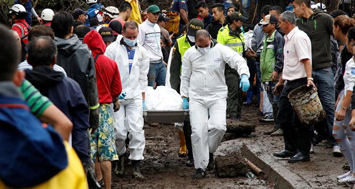 Derrumbes en Colombia
