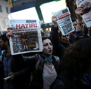 Las protestas antigubernamentales en Turquía