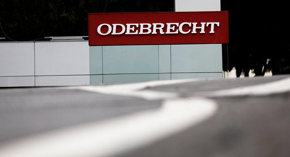 El logo de Odebrecht