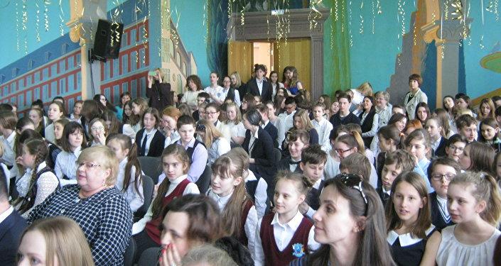 El aniversario del colegio Cervantes de Moscú