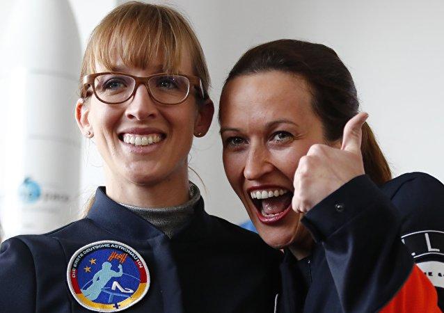 Insa Thiele-Eich y Nicola Baumann