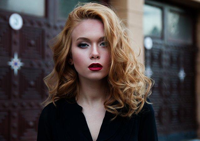 Una mujer rusa (archivo)
