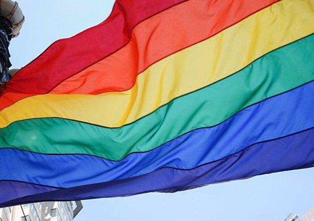 Bandera arcoíris, símbolo del movimiento LGBT