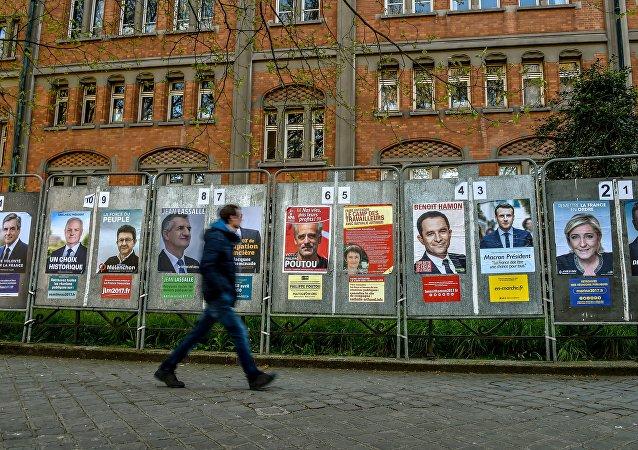 Campaña presidencial en Francia