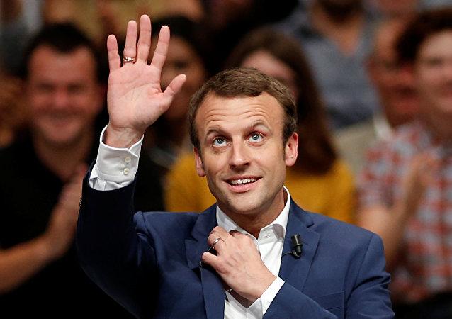 Emmanuel Macron, presidente electo de Francia (Archivo)