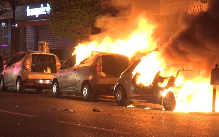 Ola de protestas en París por los resultados de las elecciones presidenciales