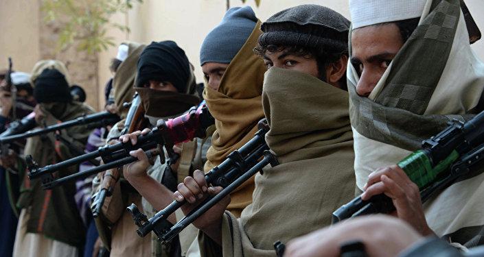 Combatientes de Talibán en Afganistán (imagen referencial)