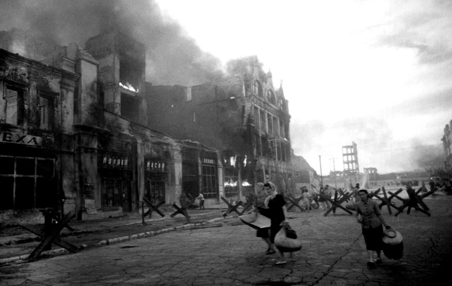 Stalingrado. Bombardeo. Agosto de 1942