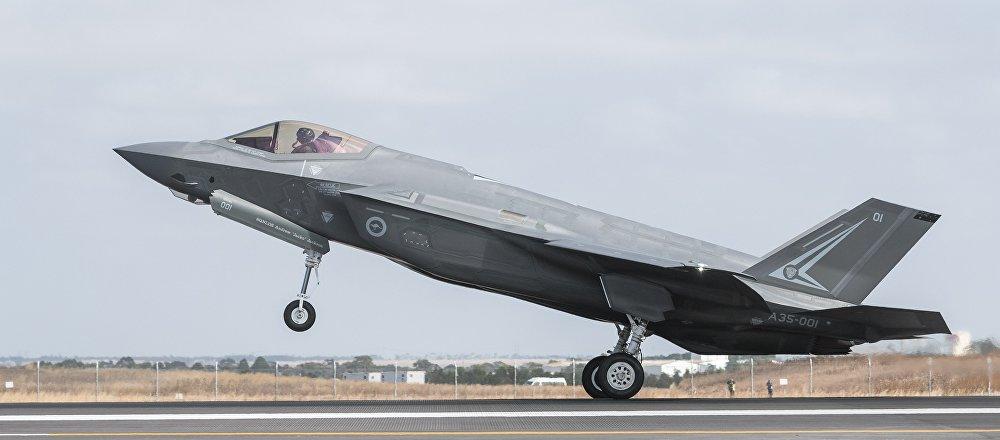 El caza F-35