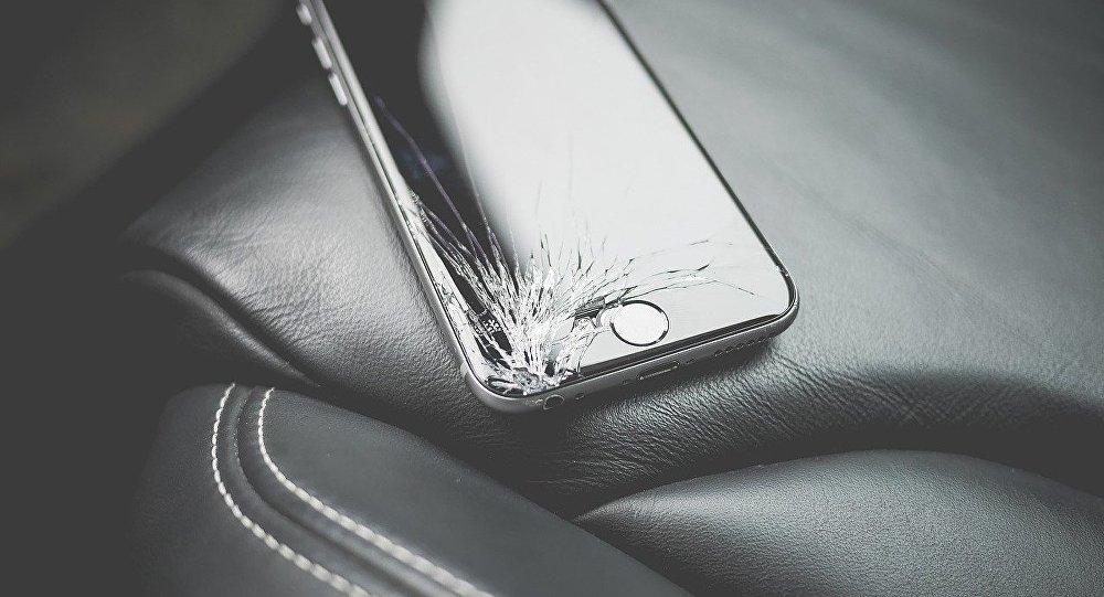 Un iPhone roto