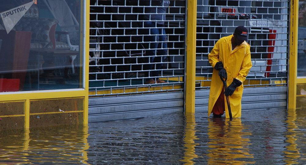 Inundaciones en República Dominicana