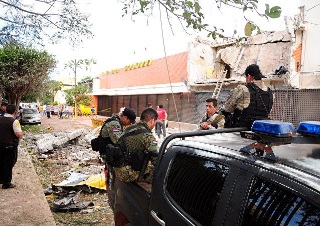 Policía de Paraguay en la Ciudad del Este (archivo)