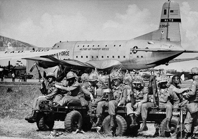 Invasión de EEUU a República Dominicana (1965)