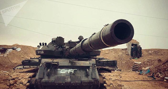 Avance de las tropas gubernamentales sirias en norte de la provincia Hama (archivo)