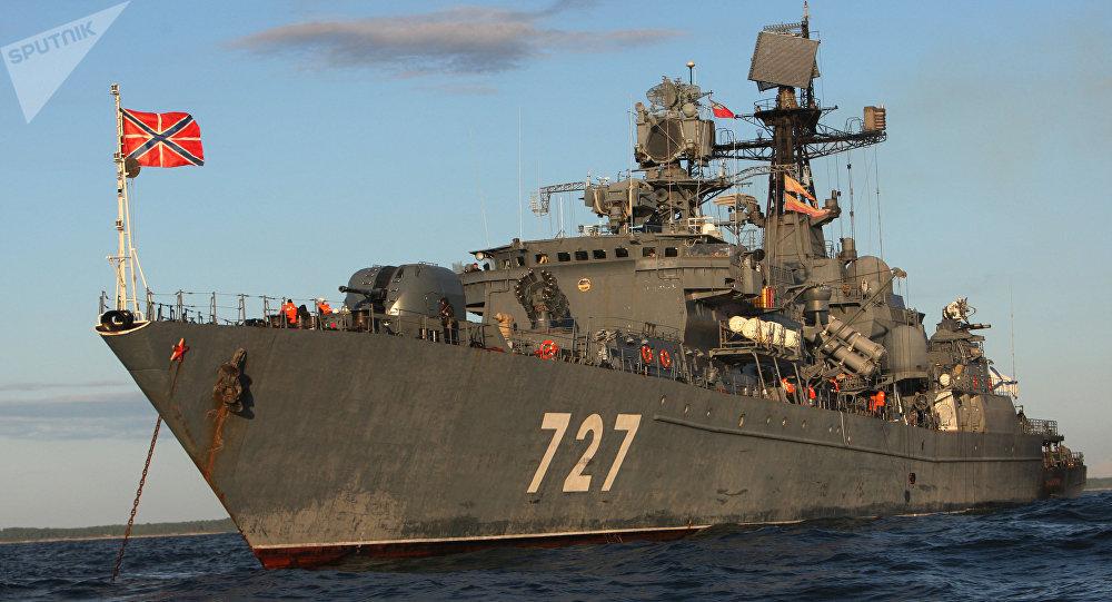 El buque patrullero Yaroslav Mudri (archivo)