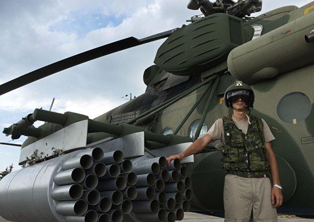 Piloto ruso en la base aérea de Hmeymim en Siria (archivo)