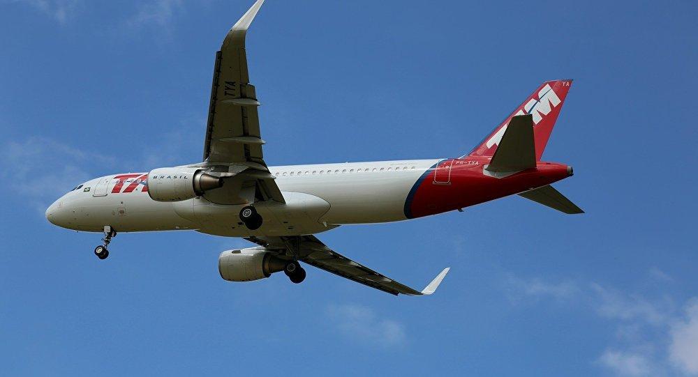Avión de la compañía brasileña TAM
