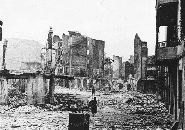 Guernica en 1937