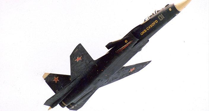 El caza experimental Su-47 Berkut