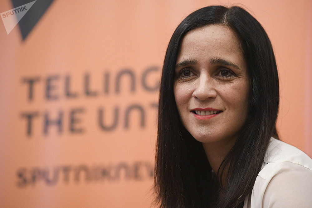Julieta Venegas en entrevista con Sputnik