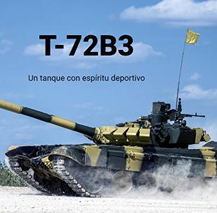 El tanque T-72B3
