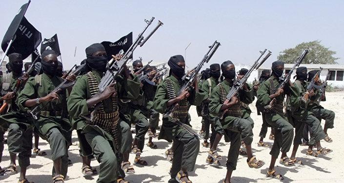 Radicales del grupo Al-Shabab