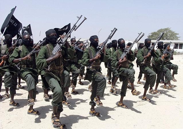 Radicales del grupo Al Shabab