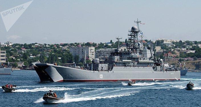 Día de la Armada de Rusia en Sebastopol