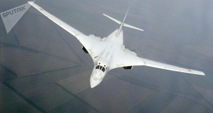 Bombardero estratégico ruso Tu-160