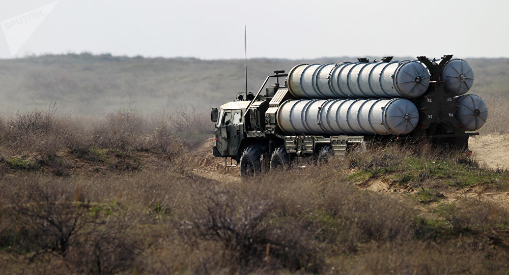 Sistema antiaéreo ruso S-300 (imagen referencial)