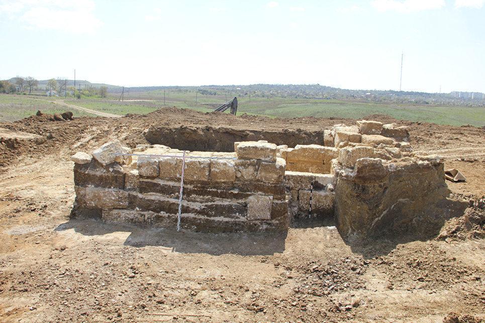 Una tumba del siglo IV antes de la Era Común en Crimea