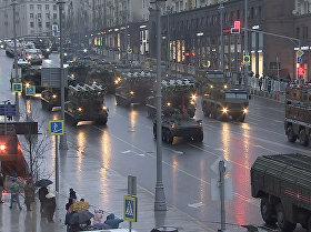 Ensayo del desfile militar en todo su esplendor