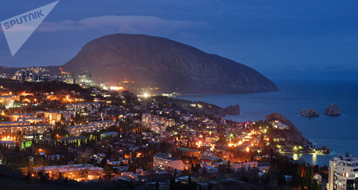 Ciudad de Gurzuf en Crimea (imagen referencial)