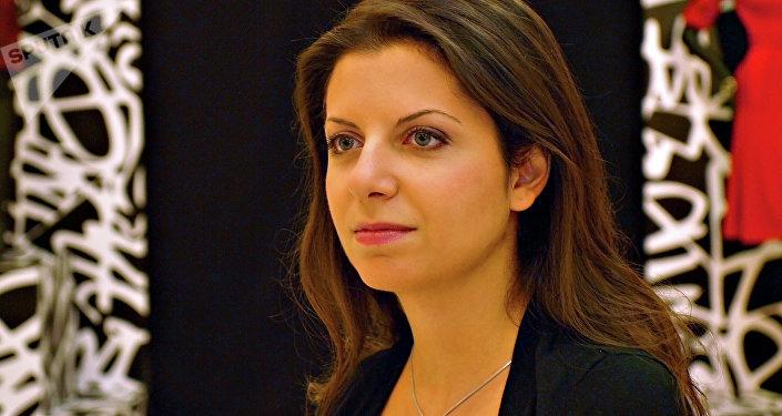 Margarita Simonián, directora de Sputnik y RT