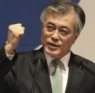 Moon Jae-in, candidato a la Presidencia de Corea del Sur