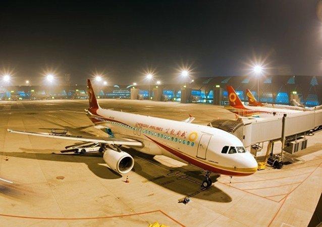 Aviones de la aerolínea china Chengdu Airlines