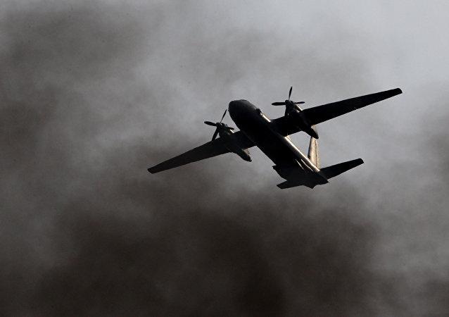 Un avion An-26 (imagen referencial)