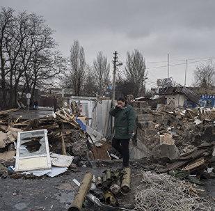 Donetsk, bajo ataque de las fuerzas de Kiev