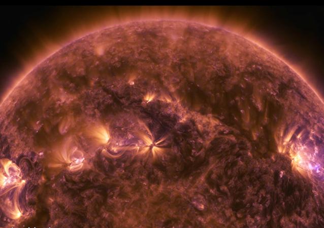 Nuevos vídeos de la NASA captan un 'estallido' a cámara lenta en la superficie solar