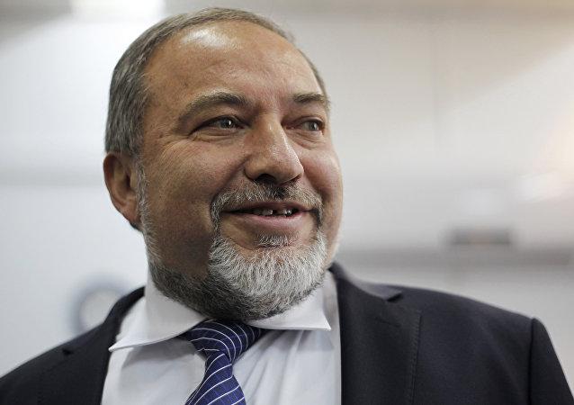 Avigdor Lieberman, el ministro de Defensa israelí (archivo)