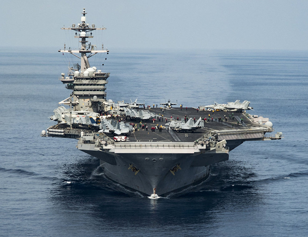 El portaviones USS Carl Vinson (archivo)