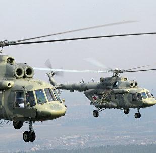 Helicópteros rusos Mi-17