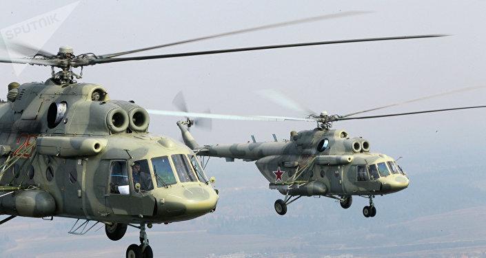 Los helicópteros Mi-17