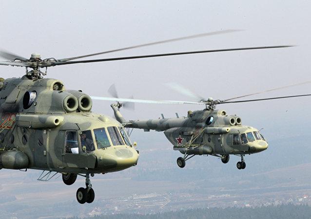 Helicópteros Mi-17 (imagen referencial)