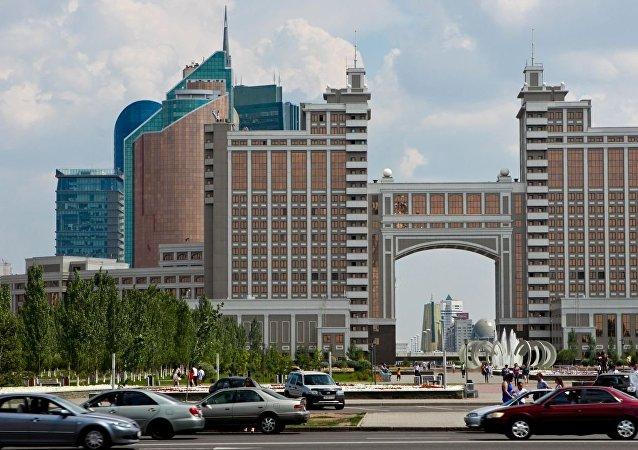 Astaná, la capital de Kazajistán (archivo)