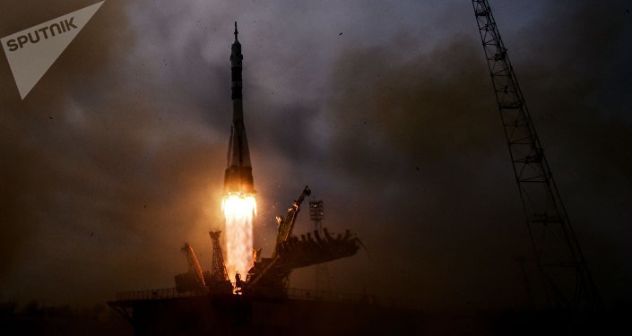 El lanzamiento del cohete portador Soyuz-FG (archivo)